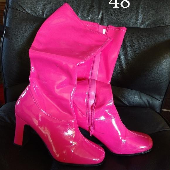 Funtasma scarpe   Hot rosa  Knee Stivali  rosa  Poshmark de9e07